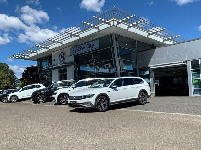 Demo Volkswagen Passat 3C (B8) MY21 Alltrack DSG 4MOTION 162TSI Premium Botany, 2021 Volkswagen Passat 3C (B8) MY21 Alltrack DSG 4MOTION 162TSI Premium White 7 Speed