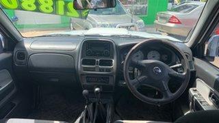 2012 Nissan Navara d22 White 6 Speed Manual Dual Cab