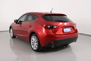 2016 Mazda 3 BM MY15 SP25 Red 6 Speed Automatic Hatchback