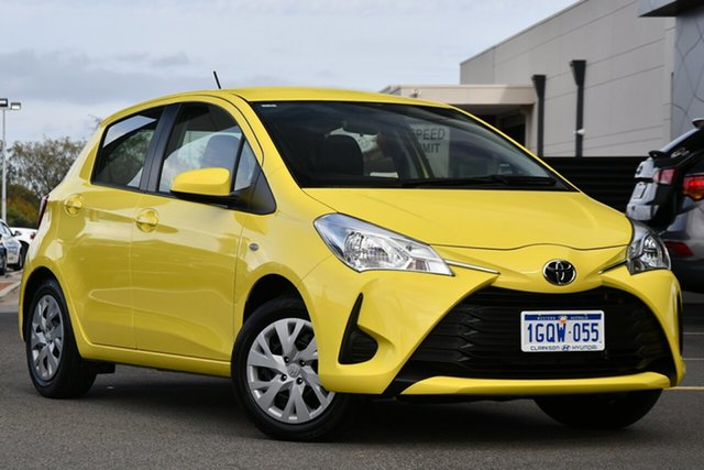 Used Toyota Yaris NCP130R Ascent Clarkson, 2019 Toyota Yaris NCP130R Ascent Yellow 4 Speed Automatic Hatchback