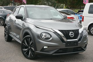 2020 Nissan Juke F16 Ti DCT 2WD Grey 7 Speed Sports Automatic Dual Clutch Hatchback.
