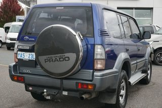 1999 Toyota Landcruiser Prado VZJ95R GXL Blue 5 Speed Manual Wagon