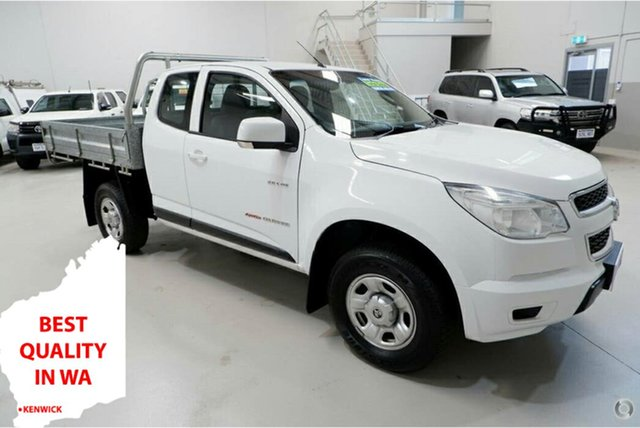 Used Holden Colorado RG MY14 LX Space Cab Kenwick, 2014 Holden Colorado RG MY14 LX Space Cab White 6 Speed Manual Cab Chassis