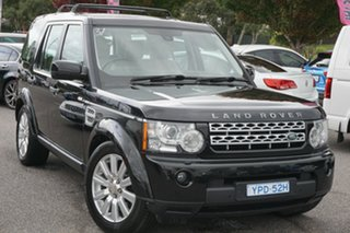 2013 Land Rover Discovery 4 Series 4 L319 MY13 TDV6 Grey 8 Speed Sports Automatic Wagon.
