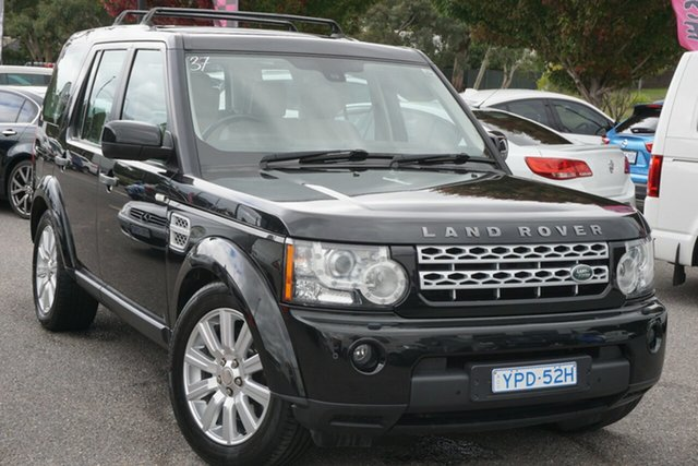 Used Land Rover Discovery 4 Series 4 L319 MY13 TDV6 Phillip, 2013 Land Rover Discovery 4 Series 4 L319 MY13 TDV6 Grey 8 Speed Sports Automatic Wagon