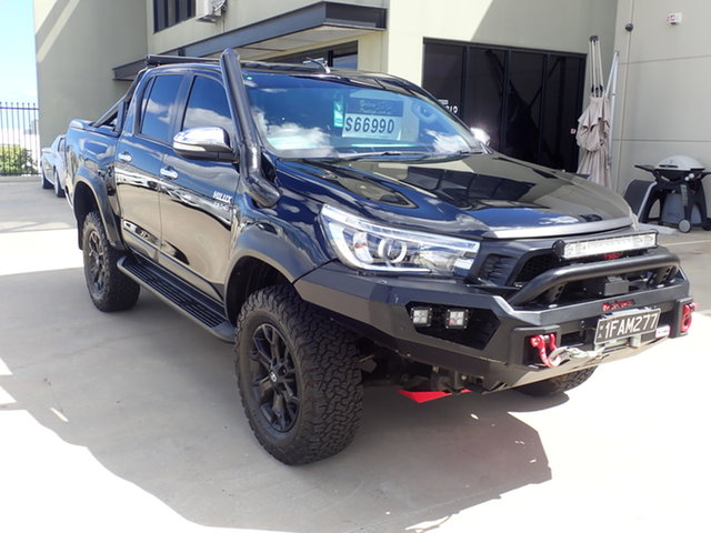 Used Toyota Hilux GUN126R TRD Black (4x4) Wangara, 2017 Toyota Hilux GUN126R TRD Black (4x4) Anniversary Black 6 Speed Automatic Dual Cab Utility