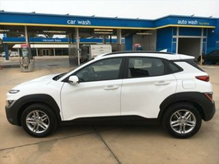2021 Hyundai Kona Os.v4 MY21 2WD Atlas White, Mica Premium 8 Speed Constant Variable Wagon
