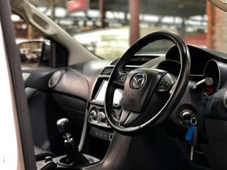2018 Mazda BT-50 UR0YG1 GT White 6 Speed Manual Utility