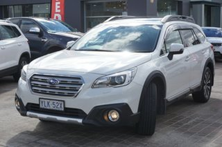 2014 Subaru Outback B6A MY15 3.6R CVT AWD White 6 Speed Constant Variable Wagon