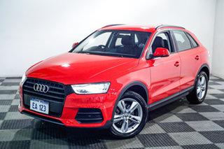2018 Audi Q3 8U MY18 TFSI S Tronic Red/Black 6 Speed Sports Automatic Dual Clutch Wagon.