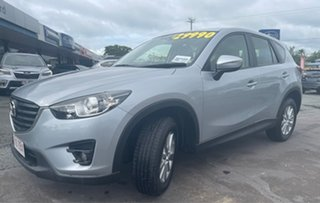 2015 Mazda CX-5 KE1032 Maxx SKYACTIV-Drive AWD Silver 6 Speed Sports Automatic Wagon.