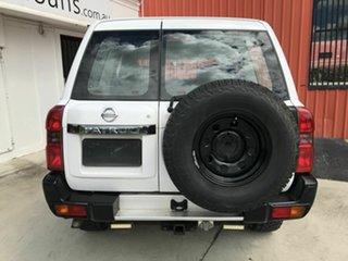2008 Nissan Patrol GU 6 MY08 DX White 5 Speed Manual Wagon