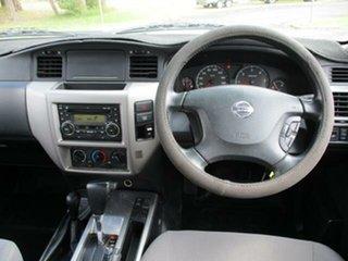 2010 Nissan Patrol GU 7 Turbo DX White Automatic Wagon