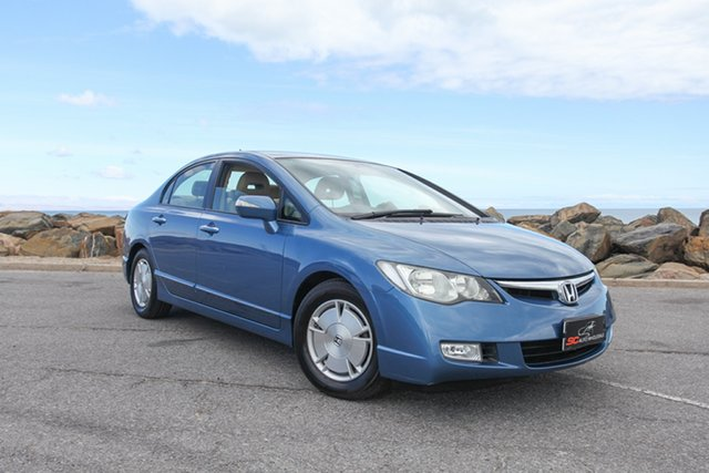 Used Honda Civic 8th Gen MY07 Hybrid Lonsdale, 2007 Honda Civic 8th Gen MY07 Hybrid Blue 1 Speed Constant Variable Sedan Hybrid