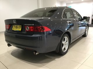 2003 Honda Accord Euro CL Luxury Black 5 Speed Automatic Sedan.
