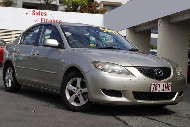 Used Mazda 3 BK10F1 Maxx Mount Gravatt, 2005 Mazda 3 BK10F1 Maxx Silver 5 Speed Manual Sedan