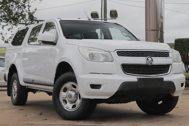 Used Holden Colorado RG MY16 LS Crew Cab Toowoomba, 2016 Holden Colorado RG MY16 LS Crew Cab White 6 Speed Sports Automatic Utility