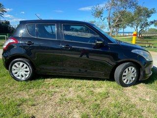 2010 Suzuki Swift RS415 Extreme Black 5 Speed Manual Hatchback.