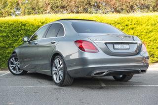 2019 Mercedes-Benz C-Class W205 800MY C300 9G-Tronic e Selenite Grey 9 Speed Sports Automatic Sedan.