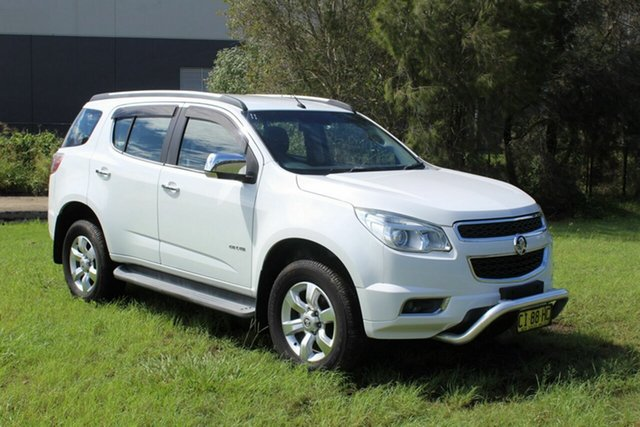 Used Holden Colorado 7 RG MY13 LTZ Ormeau, 2013 Holden Colorado 7 RG MY13 LTZ White 6 Speed Sports Automatic Wagon