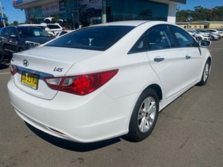 2011 Hyundai i45 YF MY11 Active White 6 Speed Sports Automatic Sedan