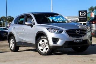 2016 Mazda CX-5 KE1072 Maxx SKYACTIV-Drive Silver 6 Speed Sports Automatic Wagon.