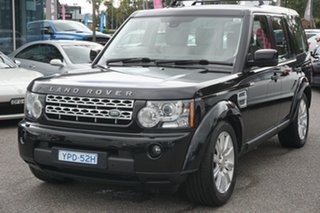 2013 Land Rover Discovery 4 Series 4 L319 MY13 TDV6 Grey 8 Speed Sports Automatic Wagon