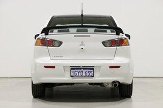 2017 Mitsubishi Lancer CF MY17 Black Edition (es) Pearl White 6 Speed CVT Auto Sequential Sedan