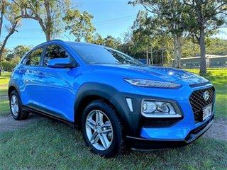 2018 Hyundai Kona OS MY18 Active 2WD Blue Lagoon 6 Speed Sports Automatic Wagon.