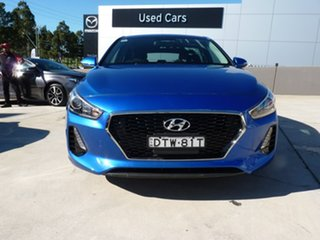 2018 Hyundai i30 PD MY18 Active Blue 6 Speed Manual Hatchback.