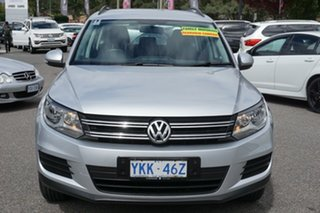 2014 Volkswagen Tiguan 5N MY14 118TSI DSG 2WD Reflex Silver 6 Speed Sports Automatic Dual Clutch.