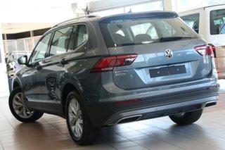 2020 Volkswagen Tiguan 5N MY21 110TSI Comfortline DSG 2WD Allspace Platinum Grey 6 Speed.