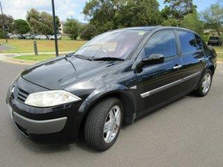 2004 Renault Megane Expression Black 4 Speed Automatic Sedan
