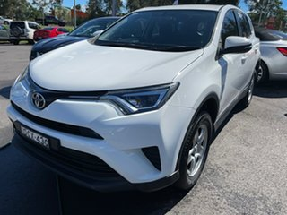 2016 Toyota RAV4 ZSA42R GX 2WD White 6 Speed Manual Wagon.