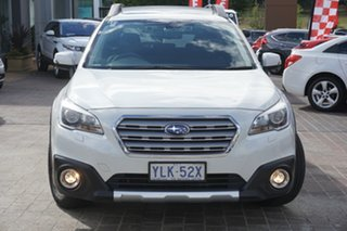 2014 Subaru Outback B6A MY15 3.6R CVT AWD White 6 Speed Constant Variable Wagon.