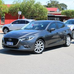 2017 Mazda 3 BN5436 SP25 SKYACTIV-MT GT Grey 6 Speed Manual Hatchback.