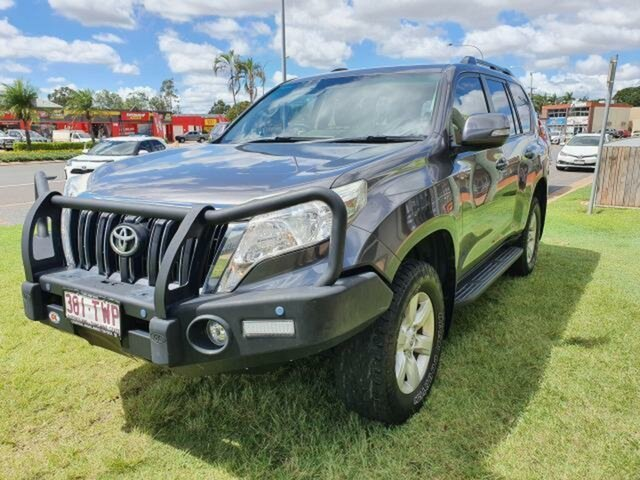 Used Toyota Landcruiser Prado KDJ150R MY14 GXL (4x4) Emerald, 2014 Toyota Landcruiser Prado KDJ150R MY14 GXL (4x4) Grey 5 Speed Sequential Auto Wagon