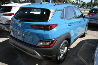 2020 Hyundai Kona Os.v4 MY21 2WD Surfy Blue 8 Speed Constant Variable Wagon.