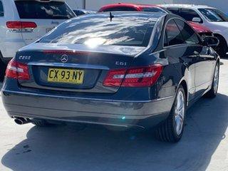 2009 Mercedes-Benz E-Class C207 E250 CGI Avantgarde Grey 5 Speed Sports Automatic Coupe.