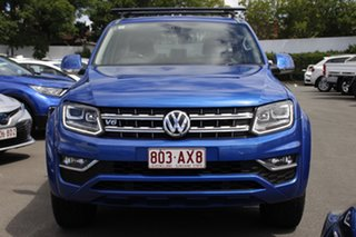 2016 Volkswagen Amarok 2H MY17 TDI550 4MOTION Perm Ultimate Blue 8 Speed Automatic Utility
