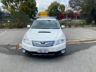 2009 Subaru Outback B5A MY10 2.0D AWD Premium White 6 Speed Manual Wagon.