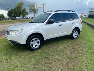 2010 Subaru Forester S3 MY10 X AWD White 4 Speed Sports Automatic Wagon