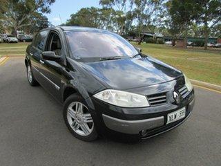 2004 Renault Megane Expression Black 4 Speed Automatic Sedan.