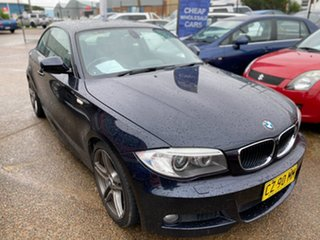 2013 BMW 1 Series E82 LCI MY1112 125i Steptronic Black 6 Speed Sports Automatic Coupe.