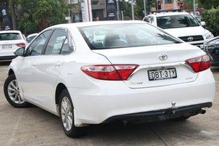 2015 Toyota Camry ASV50R MY15 Altise Diamond White 6 Speed Automatic Sedan.