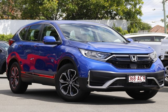 Used Honda CR-V RW MY21 VTi FWD X Mount Gravatt, 2020 Honda CR-V RW MY21 VTi FWD X Blue 1 Speed Constant Variable Wagon