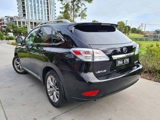 2010 Lexus RX GYL15R RX450h Sports Luxury Black 1 Speed Constant Variable Wagon Hybrid.