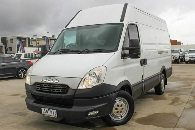 Used Iveco Daily MY12 35S15 LWB/Mid Coburg North, 2014 Iveco Daily MY12 35S15 LWB/Mid White 6 Speed Automated Manual Van