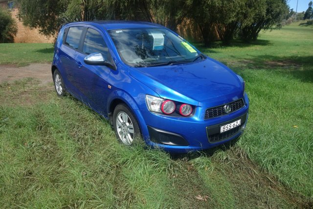 Used Holden Barina TM East Maitland, 2012 Holden Barina TM Blue 5 Speed Manual Hatchback