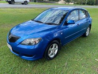 2005 Mazda 3 BK10F1 Maxx Sport Blue 4 Speed Sports Automatic Hatchback.